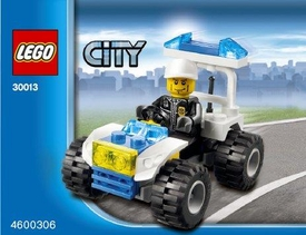 LEGO City Set #30013 Police City Quad [Bagged]