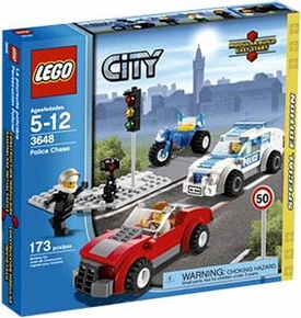 LEGO City Exclusive Set #3648 Police Chase