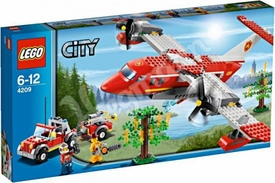 LEGO City Set #4209 Fire Plane