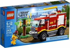 LEGO City Set #4209 4X4 Fire Truck