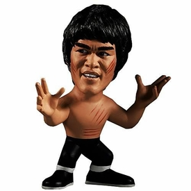 Round 5 Bruce Lee 5 Inch Titan Series 1 Figure Enter the Dragon Bruce Lee [Black Pants, No Shirt]