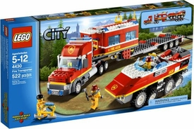 LEGO City Exclusive Set #4430 Fire Transporter