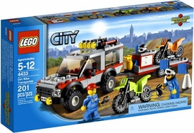 LEGO City Set #4433 Dirt Bike Transporter
