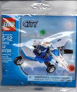 LEGO City Set #30018 Police Plane [Bagged]
