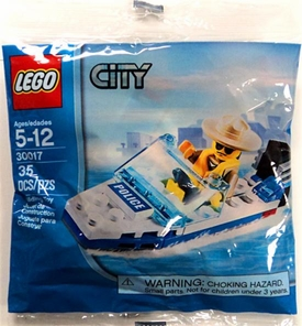 LEGO City Set #30017 Police Boat [Bagged]
