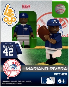 OYO Baseball MLB Generation 2 Building Brick Minifigure Mariano Rivera [New York Yankees]
