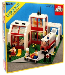 LEGO LEGOLAND Town System #6380 Emergency Treatment Center