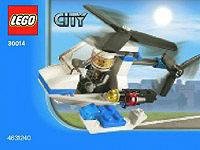 LEGO City Set #30014 Police Helicopter [Bagged]