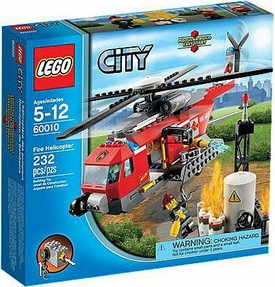 LEGO City Exclusive Set #60010 Fire Helicopter