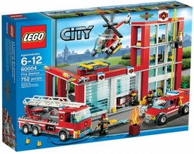 LEGO City Set #60004 Fire Station
