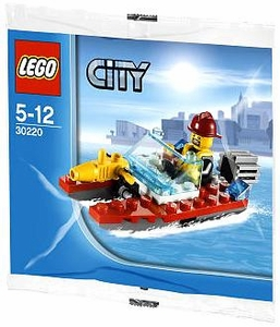 LEGO City Set #30220 Fire Speedboat [Bagged]
