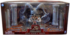 Mortal Kombat Playset Shao Kahn Throne Arena [Exclusive 5 Inch Shao Kahn Action Figure]