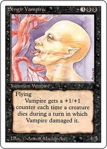 Magic the Gathering Revised Edition Single Card Uncommon Sengir Vampire