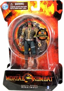 Mortal Kombat MK9 4 Inch Action Figure Nightwolf