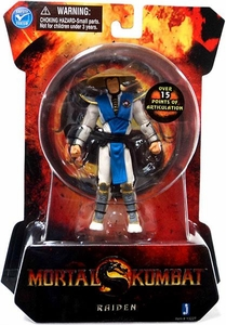 Mortal Kombat MK9 4 Inch Action Figure Raiden