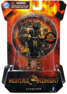 Mortal Kombat MK9 4 Inch Action Figure Scorpion