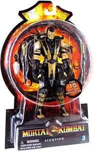 Mortal Kombat MK9 6 Inch Action Figure Scorpion