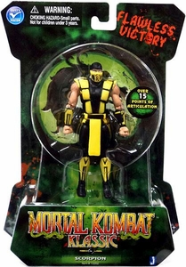 Mortal Kombat MK2 Klassic Ninja 4 Inch Action Figure Scorpion