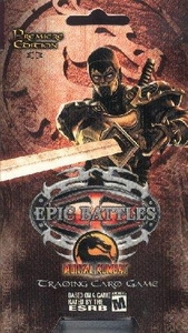 Epic Battles Card Game Mortal Kombat 2-Player Starter Deck