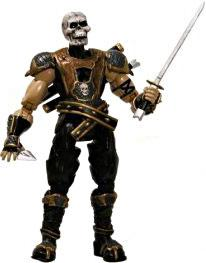 Mortal Kombat Deception Exclusive Action Figure Skull Head Scorpion