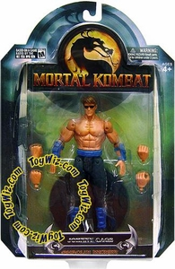 Mortal Kombat Shaolin Monks Series 3 Action Figure Johnny Cage