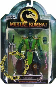 Mortal Kombat Shaolin Monks Series 3 Action Figure Reptile