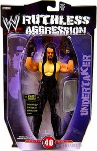 WWE Wrestling Ruthless Aggression Series 40 Action Figure Undertaker
