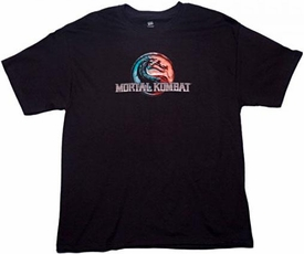 Mortal Kombat Thermal Logo T-Shirt [Large]