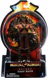Mortal Kombat 20th Anniversary 7 Inch Deluxe Action Figure Shao Kahn