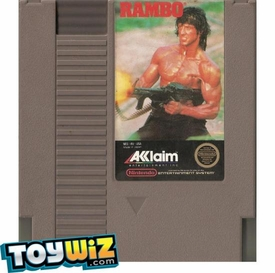 Nintendo Entertainment System NES Played Cartridge Game Rambo