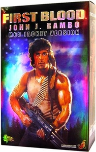 Sideshow Collectibles Rambo 12 Inch Action Figure M65 Jacket John J. Rambo (First Blood)
