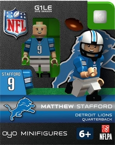 OYO Football NFL Building Brick Minifigure Matthew Stafford [Detroit Lions]
