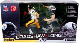 McFarlane Toys NFL Sports Picks Action Figure 2-Pack Terry Bradshaw (Pittsburgh Steelers) & Howie Long (Oakland Raiders)
