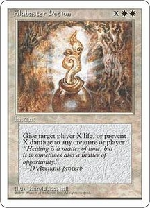 Magic the Gathering Fourth Edition Single Card Common Alabaster Potion