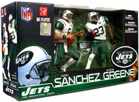 McFarlane Toys NFL Sports Picks Action Figure 2-Pack Mark Sanchez & Shonn Greene (New York Jets)