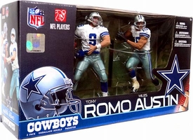 McFarlane Toys NFL Sports Picks Action Figure 2-Pack Miles Austin & Tony Romo (Dallas Cowboys)