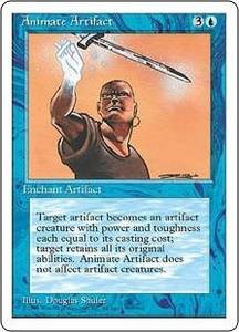 Magic the Gathering Fourth Edition Single Card Uncommon Animate Artifact