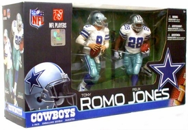 McFarlane Toys NFL Sports Picks Exclusive Action Figure 2-Pack Tony Romo & Felix Jones (Dallas Cowboys)