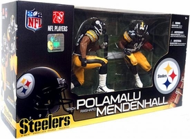 McFarlane Toys NFL Sports Picks Action Figure 2-Pack Rashard Mendenhall & Troy Polamalu (Pittsburgh Steelers)