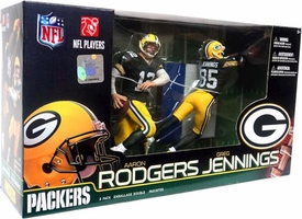 McFarlane Toys NFL Sports Picks Action Figure 2-Pack Aaron Rodgers & Greg Jennings (Green Bay Packers)