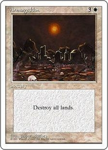 Magic the Gathering Fourth Edition Single Card Rare Armageddon
