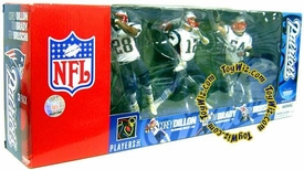 McFarlane Toys NFL Sports Picks Exclusive Action Figure 3-Pack Tom Brady, Corey Dillon & Tedy Bruschi (New England Patriots)
