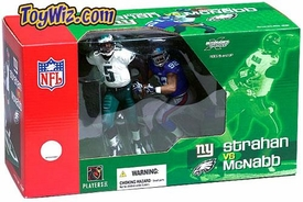 McFarlane Toys NFL Sports Picks Action Figure 2-Pack Donovan McNabb (Philadelphia Eagles) & Michael Strahan (New York Giants)