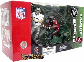 McFarlane Toys NFL Sports Picks Action Figure 2-Pack Rich Gannon (Oakland Raiders) & Derrick Brooks (Tampa Bay Buccaneers)