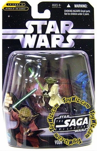 Star Wars Saga 2006 Basic Action Figure #19 Yoda
