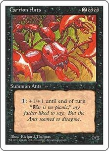 Magic the Gathering Fourth Edition Single Card Uncommon Carrion Ants