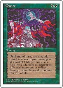Magic the Gathering Fourth Edition Single Card Uncommon Channel