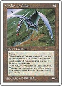Magic the Gathering Fourth Edition Single Card Rare Clockwork Avian