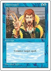Magic the Gathering Fourth Edition Single Card Uncommon Counterspell
