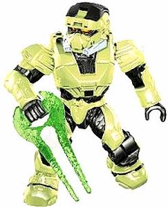 Halo Mega Bloks LOOSE Mini Figure Infected UNSC Zombie Spartan EOD with Energy Sword